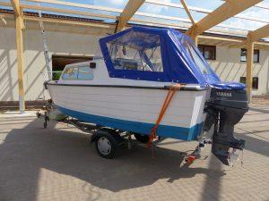 Boot blau 1