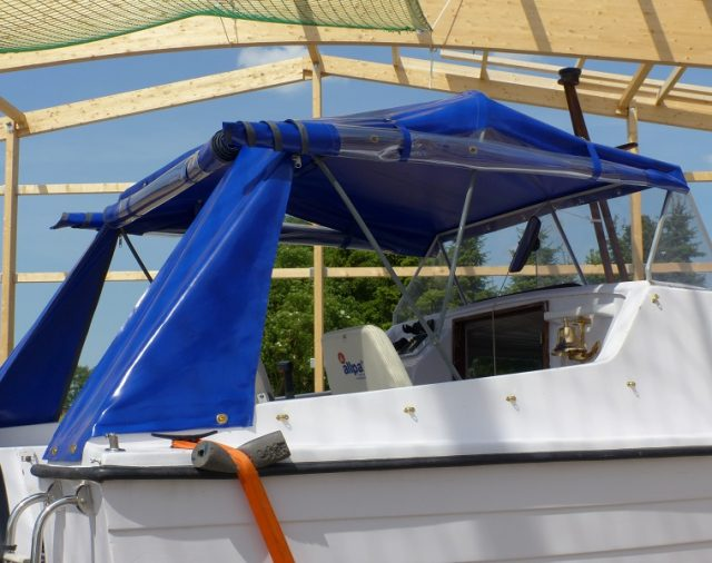 Boot blau 2